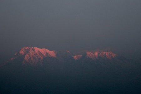 Annapurna sunrise from Sarangkot