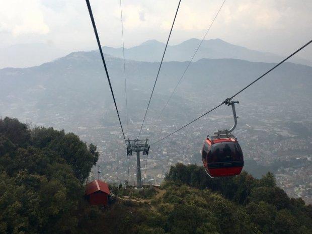 Chandragiri Hill cable car