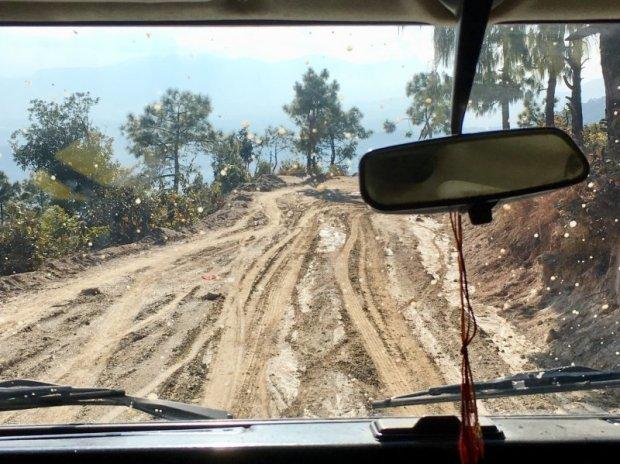 Drive to Prakriti Resort, Nepal