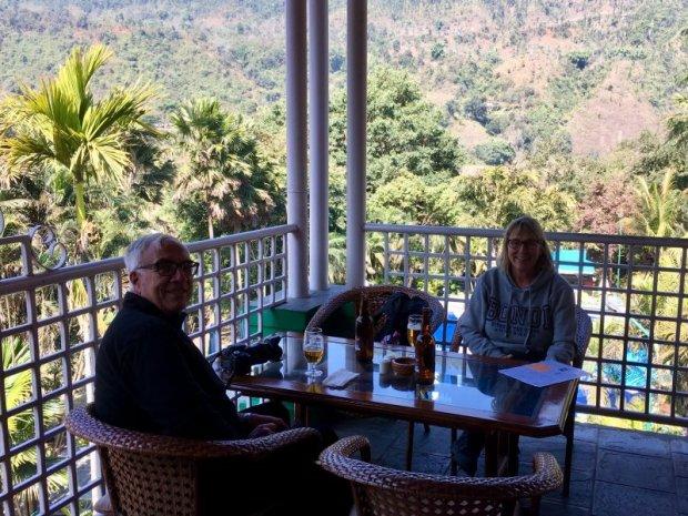 Highway lunch, Pokhara to Kathmandu