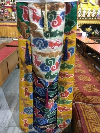 Jangchub Choeling Tibetan Monastery interior