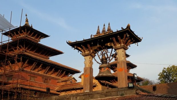 Patan Durbar Square bell tower