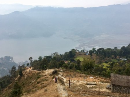 Path to Lakeside from Sarangkot