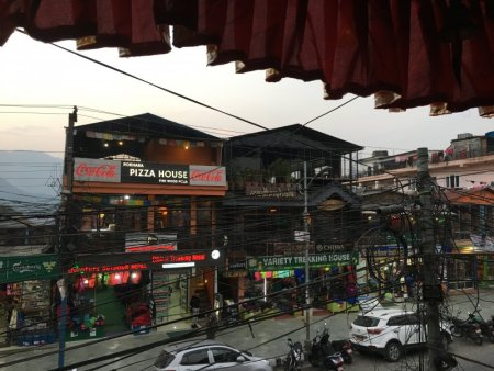 Pokhara tourist area restaurants