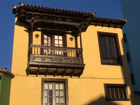 La Orotava house with balcony