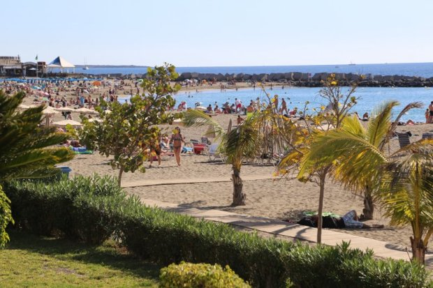 Los Cristianos Beach, Tenerife