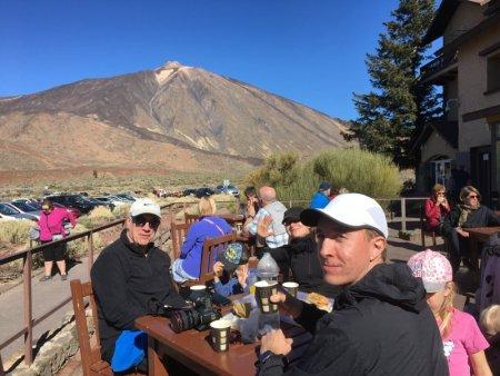 Mount Teide cafe, Tenerife