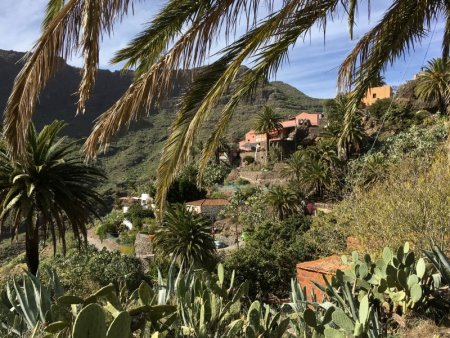 Mountain village of Masca, Tenerife