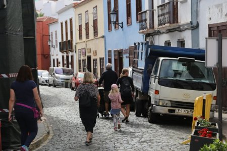 Walking in Garachico, Tenerife