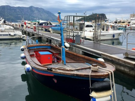 Budva fishing boat