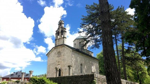 Cetinje church, Montenegro