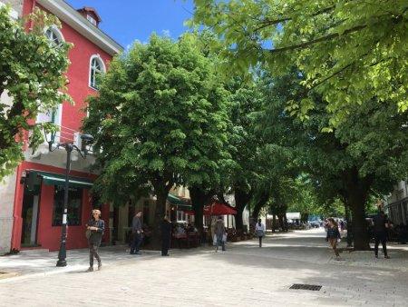 Cetinje pedestrian zone