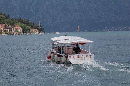 Perast boat trip