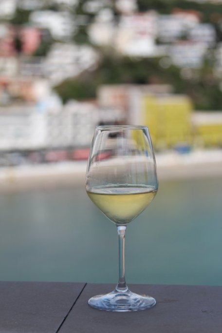 White wine in Ulcinj