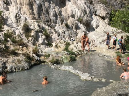 Dreaming about travel: Bagni San Filippo, Italy