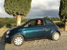 Italy by train and car: driving in Tuscany