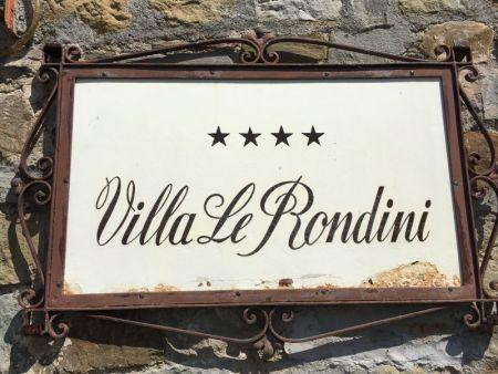 Villa Le Rondini, Florence