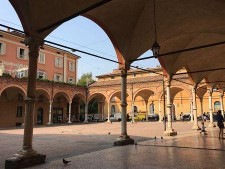 Basilica of Santa Maria dei Servi courtyard