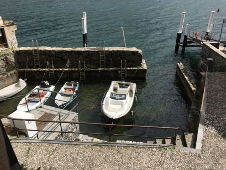 Boat pier of Brienno, Lake Como