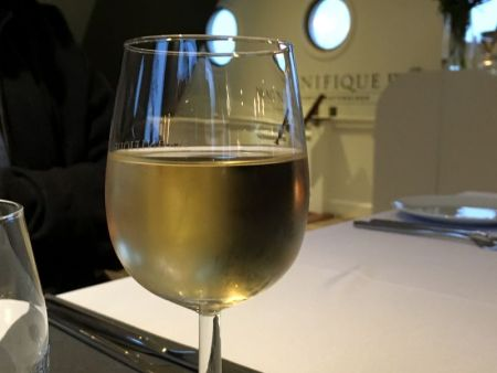 Europe by river boat: white wine on Magnifique III