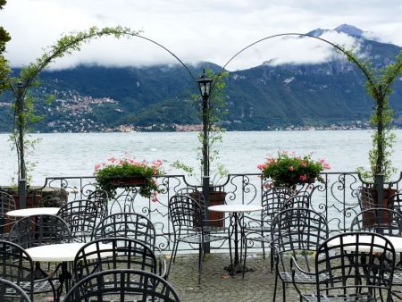 Menaggio lakeside promenade, Lake Como