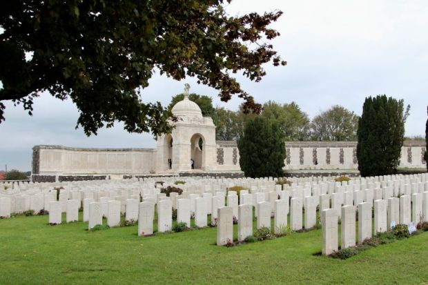 Tyne Cot war cemetery and memorial, Yper
