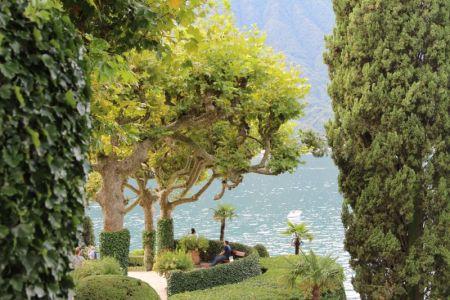 Villa Balbianello garden, Lenno, Lake Como