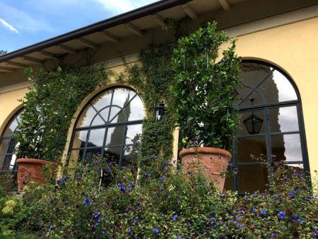 Villa Balbianello loggia