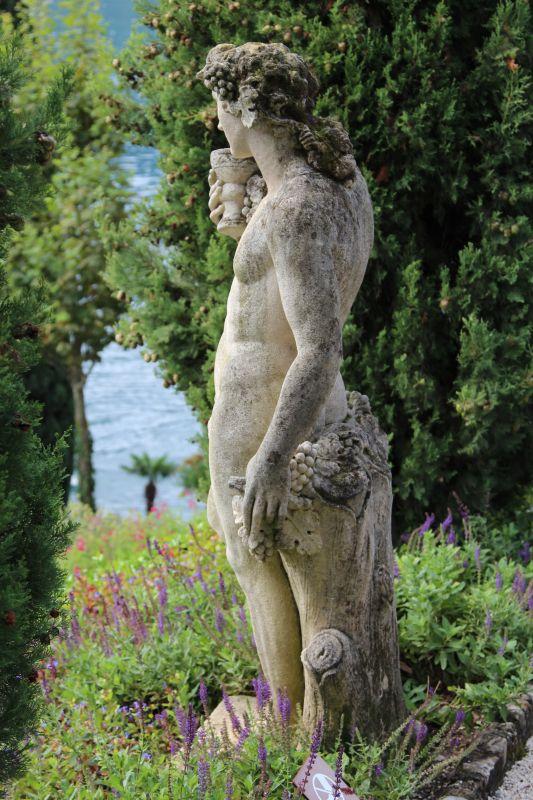 Villa Balbianello statue, Lenno, Lake Como