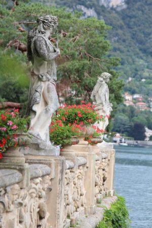 Villa Balbianello statues, Lenno, Lake Como