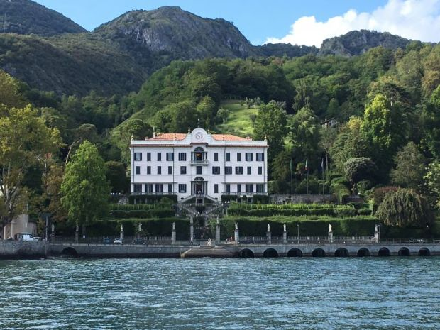 Villa Carlotta and Tremezzo lake shore