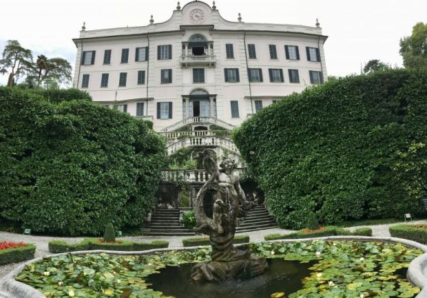 Villa Carlotta facing Lake Como