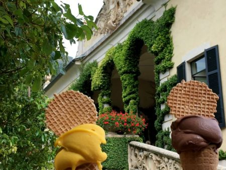 Villa del Balbianello home-made ice cream
