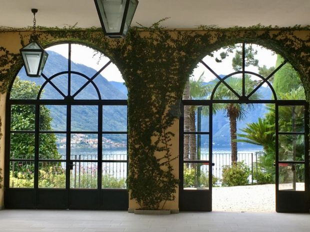 Villa del Balbianello lake view