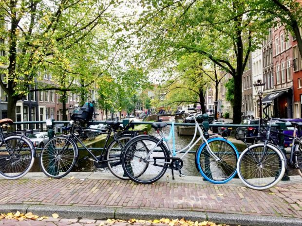Amsterdam, city of canals and bikes