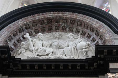 Antwerp Onze Lieve Vrouwe Kathedraal decoration