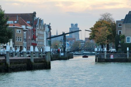 River cruising through Belgium and the Netherlands: Dordrecht harbor
