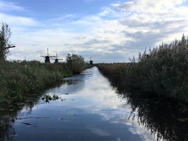 Kinderdijk Unesco World Heritage windmills draining the marshland