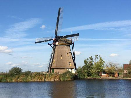 Kinderdijk windmill area