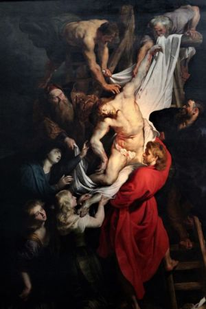 Raising of the Cross by Rubens, Antwerp