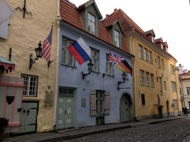 Historic townhouses of Tallinn