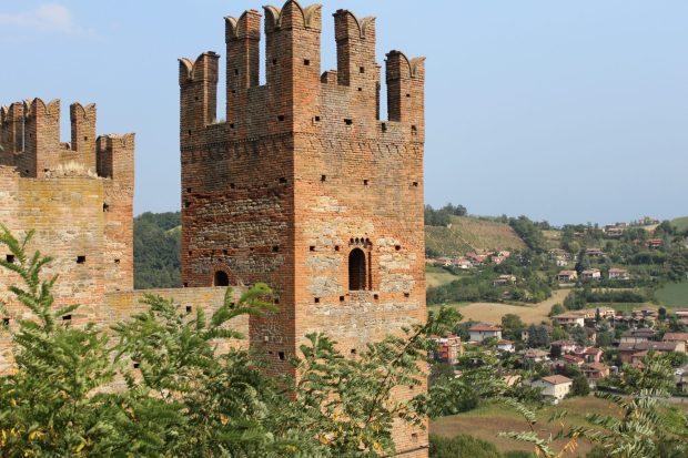 Castell'Arquato, one of the prettiest villages in, Italy