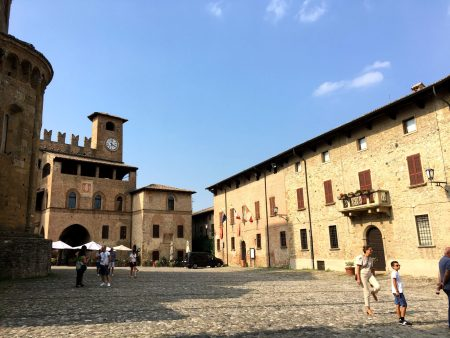 Castell'Arquato, Emilia Romagna, one of Italy's prettiest villages