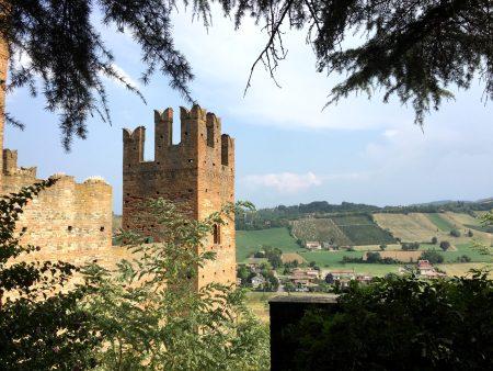 Castell'Arquato, hilltop village in Emilia Romagna