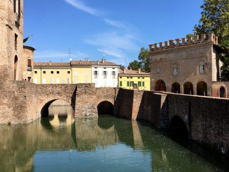 Castle town Fontanellato, Emilia Romagna