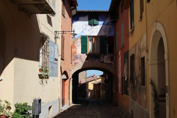 On the list of Italy's prettiest villages: Dozza, Emilia Romagna