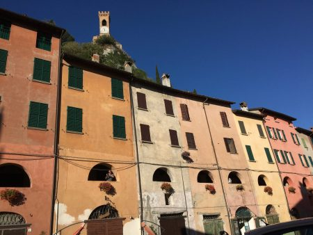 Italy's prettiest villages, Brisighella hilltop castle