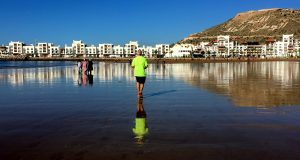 Agadir, sand, sea and winter sun