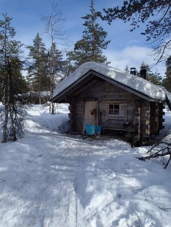 Ski tour in Lapland, Luirojärvi hut