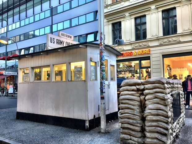 Berlin Top Ten sights: Checkpoint Charlie